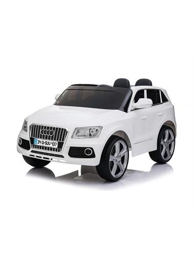 Baby2go Baby2Go 2095 Akülü Araba 12V Uzaktan Kumandalı Akülü Jeep Audio Q-Suv Kırmızı